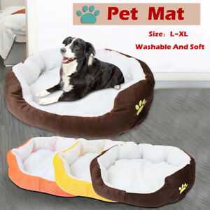 Pet Bed for Small Medium Large Dog Crate Pad Soft Bedding Moisture Proof Bottom