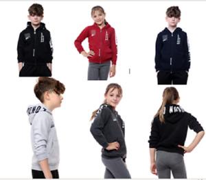 Kids Children's  London England Hoodie Hooded Sweatshirt 5 Colours 3/4 T0 9/10