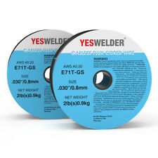 E71T-GS .030 in. Dia 2lb. Gasless-Flux Core Wire MIG Welding-4pounds (2x2lbs)