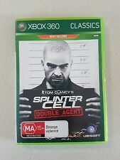 TOM CLANCY'S SPLINTER CELL DOUBLE AGENT - XBOX 360 GAME