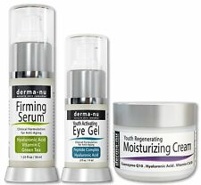 Derma-NU Firming serum,eye gel and Anti Aging Skin Cream set