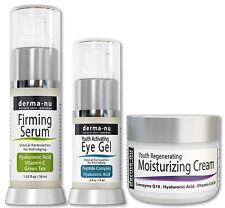 Derma-NU Firming serum,eye gel and Anti Aging Skin Cream set