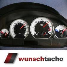 Tachoscheibe für Tacho BMW E46 Diesel *Black Face  250 kmh Top