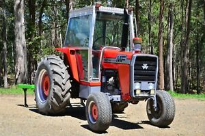 ⭐ Massey Ferguson 590 75HP Tractor ⭐ Includes 7ft Chisel Plough / Cultivator ⭐