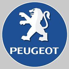 STICKER LOGO PEUGEOT LION AUTOCOLLANT GARAGE VOITURE INSIGNE AUTO 12cm PA074