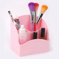 Nail Art Brushes Makeup Pen Brush Holder Dressing Organizer 4 Grids  HJH