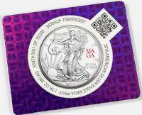 TRUMP .Scottsdale VERY RARE 2016 1 ounce Silver .999 Eagle Dollar MAGA privy