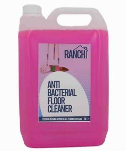 Floor Cleaner - Anti-Bac - Deodoriser - Bubblegum Scented - 5L Jerry - Ranch