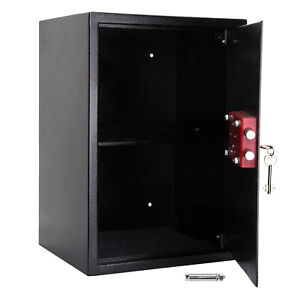 Large High Security Electronic Digital Safe Steel Home Money Jewelry Safety Box