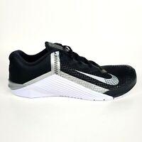 Nike Metcon 6 Women's Training Shoes Gym Women's 13 Mens 11.5 Black White