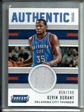 Kevin Durant 15/16 PANINI THREADS MATCH d'Occasion Maillot #058/199