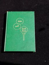GOLF BOOK     1965 DESK DIARY         PICS & FACTS
