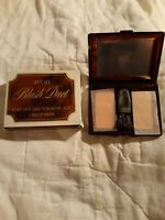 Vintage Avon Blush Duet. Rose/Frosted Rose and 1 Brush nt wt .18 oz each NOS/BOX