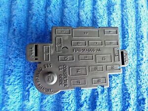 91-97 Town Car & 91-98 Mustang Driver Under Dash Panel Fuse Box Relay Cover