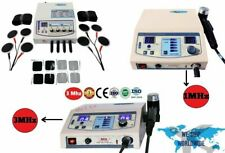 New 4 Channel Electrotherapy Combo Machines 1 Mhz And 3 Mhz Ultrasound Therapy