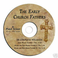 Early Church Fathers-Philip Schaff-ALL 38 VOLUMES-CD PDF-Christian History Bible