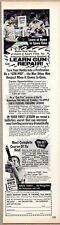 1976 Ad North American School of Firearms Learn Gun Repair Newport Beach,CA