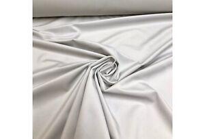 LAURA ASHLEY 'MARSHALL' Velvet In Silver CURTAIN UPHOLSTERY FABRIC 3.8 METRES
