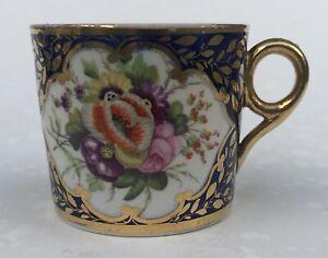 Fine Minton c1810 Coffee Can #2 In Pattern 678