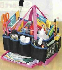 13 COMPARTMENT CRAFT ORGANIZER STORAGE TOTE BAG