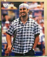ANDRE AGASSI Original Vintage Australian Tennis Magazine Poster