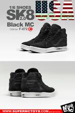 "1/6 Vans SK8 Hi Skateboard Sneakers C For 12"" Hot Toys PHICEN Male Figure❶USA❶"
