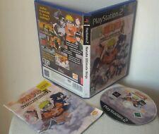 NARUTO ULTIMATE NINJA - PlayStation 2 PS2 Play Station Sony Gioco Game