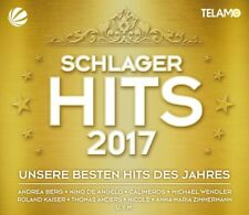SCHLAGER HITS 2017 - ANDREA BERG/MICHAEL WENDLER/THOMAS ANDERS/+  3 CD+DVD NEW
