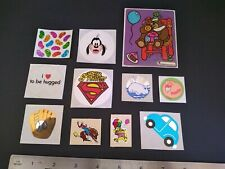 Vintage Stickers 80s Trend Hambly Russ BJs Scratch Sniff Lot of 11 Mods Mix