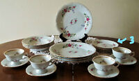 RKT3 Vintage China by Royal Kent, Poland--MINT/NEAREST MINT 19-Piece Set