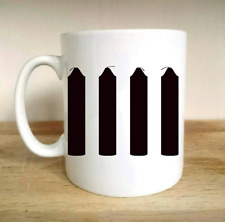 FOUR CANDLES COMEDY DESIGN TWO RONNIES FORK HANDLES FUNNY CLASSIC GIFT CUP MUG