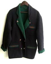 Damen Trachten Janker Jacke blau grün Gr. 38