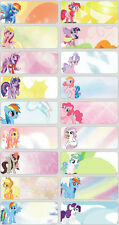 60 Pony Pictures personalised name label