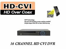 16CH Tribrids 1080P 1U DVR Supports HDCVI, Analog, IP Video -Ship from PA