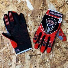 Trials Mountainbike Enduro Red Raw Sports Gloves - Junior