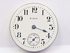 Antique Elgin Pocket Watch Movement. 28 mm in size. #18209995.