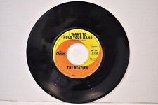 "Beatles ""I Want To Hold Your Hand/I Saw Her..."" Orange/Yellow 20th Anniv. Issue"