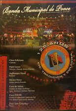 NEW! Banda Municipal De Ponce - 125 Anos De Tradicion Y Cultura (DVD 2008)