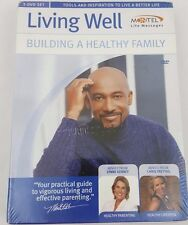 Montel Williams - Living Well: Building A Healthy Family (DVD) 3-Disc Brand New
