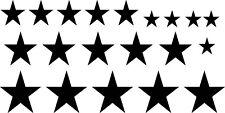 20er set estrellas Stars premium Pegatina Sticker