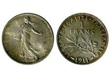 1 Franc Semeuse 1911