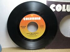Old 45 RPM Record - Columbia 1-11263 - Paul McCartney - Coming Up / Lunch Box Od