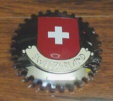 """Artifakt 3 1/2"""" Inch Stainless Steel Switzerland Confederation Flag Belt Buckle!"""