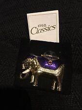 Vintage Avon Brooch Indian Elephant Avon Classics Goldplated Indian Elephant Pin