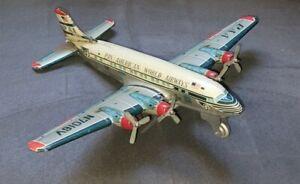 Vintage 50's Pan American Airways Tin Friction Toy Airplane Yonezawa Japan