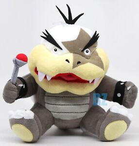 "GENUINE Super Mario Bros Morton Koopa Stuffed Plush 9"" Little Buddy 1344"