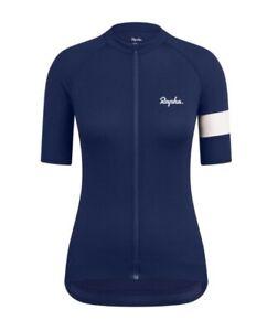 Rapha Navy Blue Womens Core Lightweight Jersey Cycling Top BNWT Small