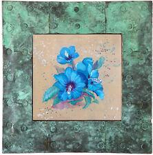 "Original painting - by Gabriele Liedtke ""Bue Hibiscus"" Flower Garden tropical"
