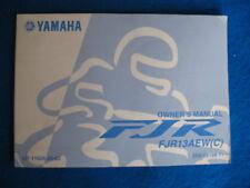 2007 FJR1300 FJR13AEW(C) Yamaha Original BRAND NEW Owners Manual