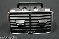 Audi A6 S6 RS6 4F C6 Luftausströmer Luftdüse hinten mitte Nero Soul 4F0819203C